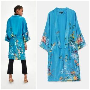 NWT Zara Printed Kimono size M